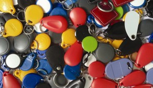 Assortment of ABS Smart Key Fob