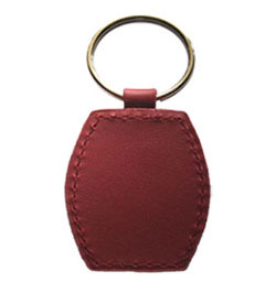 Leather 48x37mm Keyfob Type - HID Key Fob NFC