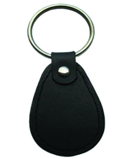 Leather WaterDrop Keyfob - Card Access Key Fobs