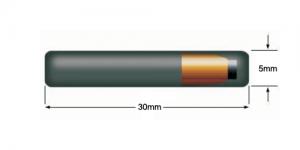 Fiberglass Rod RFID Tag - 30mm x ø5mm