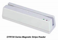 OTR720 - Magnetic Card Reader, Triple Track, Manual Swipe Type