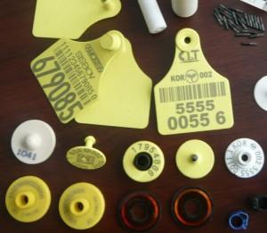 Livestock Ear Tags RFID